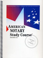 Notary Study Course