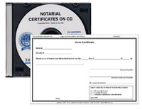 Notarial Certificates