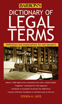 Dictionary of Legal Terms, New Jersey